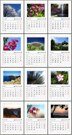 Der neue Foto Kalender 2011